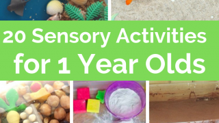 Sensory Play for 1 Year Olds