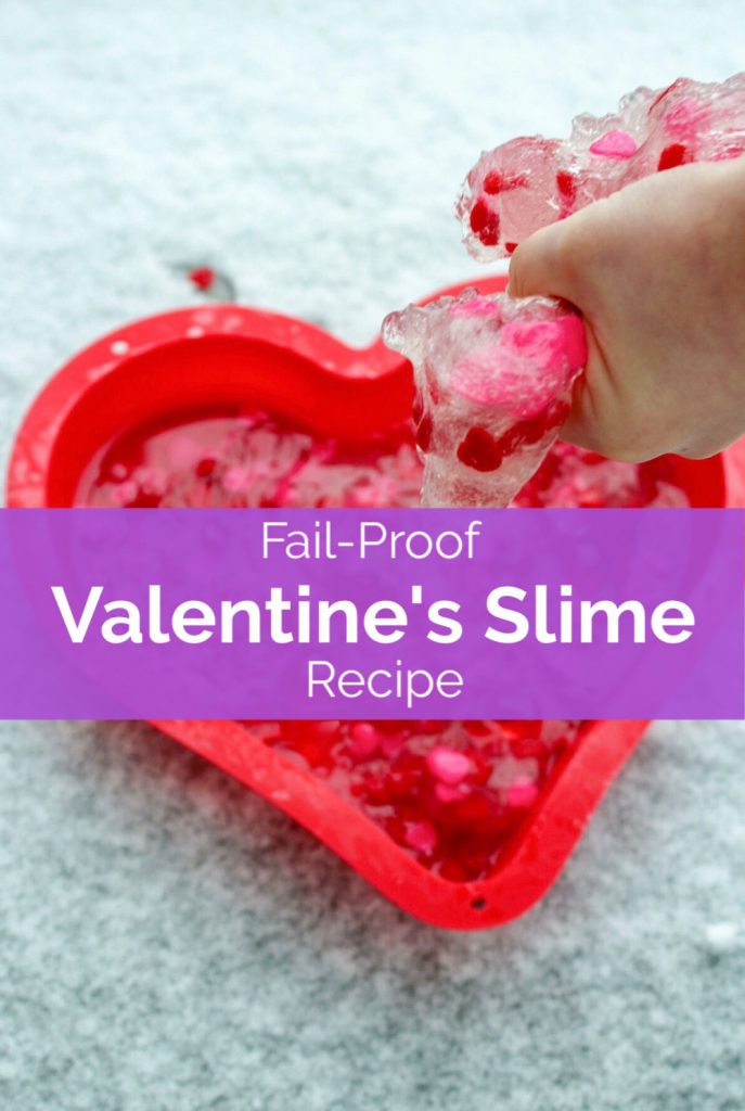 How to make clear slime for Valentine's and how to troubleshoot clear slime fails. #sensoryplayforkids #sensoryplay #slime #slimerecipe #kidsactivities #STEM #science